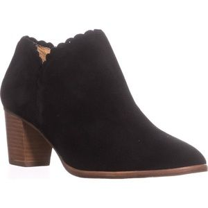 Jack Rogers Marianne Scalloped Low Rise Booties